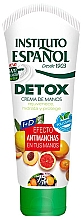 Düfte, Parfümerie und Kosmetik Feuchtigkeitsspendende und schützende Detox-Handcreme - Instituto Espanol Detox Hand Cream