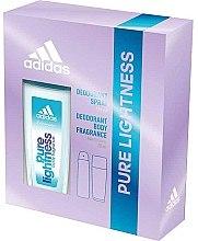 Düfte, Parfümerie und Kosmetik Adidas Pure Lightness - Körperpflegeset (Körperspray 75ml + Deodorant 150ml)