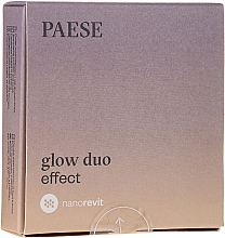 Düfte, Parfümerie und Kosmetik 2in1 Gesichtspuder und -Rouge - Paese Nanorevit Glow Duo Effect Powder And Blush