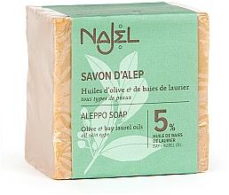 Düfte, Parfümerie und Kosmetik Aleppo-Seife mit 5% Lorbeeröl - Najel Aleppo Soap 5% Bay Laurel Oil