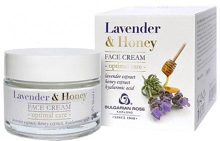 Gessichtscreme - Bulgarian Rose Lavender & Honey Cream — Bild N1