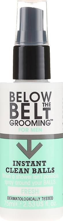 Erfrischendes Intimpflegespray - Below The Belt Grooming Instant Clean Balls Fresh