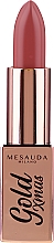 Düfte, Parfümerie und Kosmetik Lippenstift - Mesauda Milano Gold Xmas Lipstick