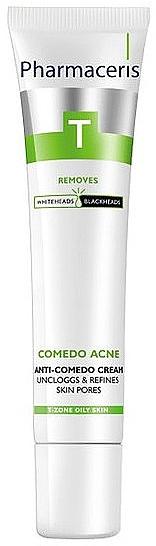 Gesichtscreme für Akne- und Mitesser-anfällige Haut - Pharmaceris T Anti-comedone Cream — Bild N1