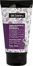 Düfte, Parfümerie und Kosmetik 2in1 Regenerierendes und reinigendes Gesichtscreme-Peeling mit Aubergine und Maqui-Beeren - Bio Happy Regenerating Scrub Cleansing Cream
