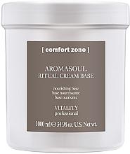 Düfte, Parfümerie und Kosmetik Nährende Gesichtscreme-Base - Comfort Zone Aromasoul Ritual Cream Base