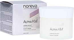 Düfte, Parfümerie und Kosmetik Nachtcreme gegen Falten - Noreva Laboratoires Alpha KM Night Cream Corrective Anti-Wrinkle Care