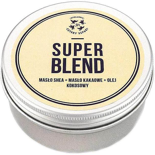 Körperbutter mit Shea, Kakao und Kokosnuss Super Blend - Cztery Szpaki