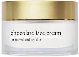 Düfte, Parfümerie und Kosmetik Feuchtigkeitsspendende und straffende Gesichtscreme mit Kakao-Extrakt - Yellow Rose Chocolate Face Cream