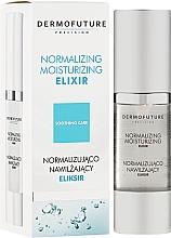 Düfte, Parfümerie und Kosmetik Normalisierendes und feuchtigkeitsspendendes Gesichtselixir - DermoFuture Normalizing Moisturizing Elixir