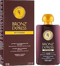 Düfte, Parfümerie und Kosmetik Selbstbräunungslotion für Gesicht und Körper - Academie Bronz'Express Intense Lotion