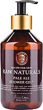 Düfte, Parfümerie und Kosmetik Mildes erfrischendes Duschgel mit Hopferextrakt - Recipe For Men RAW Naturals Pale Ale Shower Gel