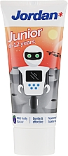 Düfte, Parfümerie und Kosmetik Kinderzahnpasta 6-12 Jahre Roboter - Jordan Junior Toothpaste