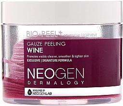 Düfte, Parfümerie und Kosmetik Reinigende Einweg-Gesichtspads mit Rotweinextrakt - Neogen Dermalogy Bio Peel Gauze Peeling Wine Set