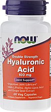 Düfte, Parfümerie und Kosmetik Hyaluronsäure 100 mg 120 Kapseln - Now Foods Hyaluronic Acid 100 mg