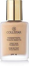 Düfte, Parfümerie und Kosmetik Foundation - Collistar Perfect Wear Foundation SPF 10