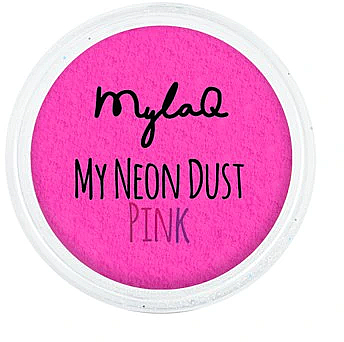 Nagelpuder rosa - MylaQ My Neon Dust