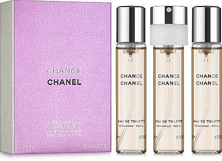 Chanel Chance - Eau de Toilette (3 x Nachfüllung) — Bild N1