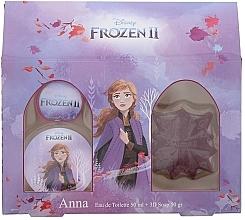 Düfte, Parfümerie und Kosmetik Disney Frozen II Anna Gift Set - Duftset für Mädchen (Eau de Toilette 50ml + Seife 50ml)