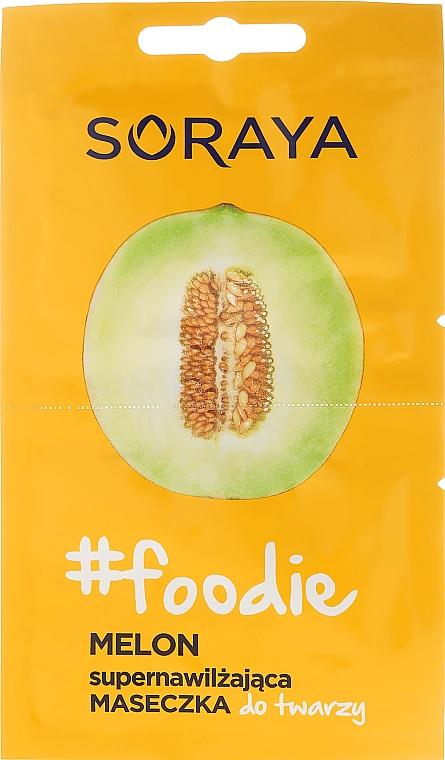 Feuchtigkeitsspenende Gesichtsmaske mit Melone - Soraya Foodie Melon Super-Hydrating Face Mask