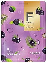 Düfte, Parfümerie und Kosmetik Straffende Gesichtsmaske mit Acai-Beere - Frudia My Orchard Squeeze Mask Acai Berry