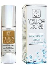 Düfte, Parfümerie und Kosmetik Serum z kwasem hialuronowym - Yellow Rose Hyaluronic Serum With Oligopeptides