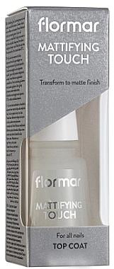 Mattierender Nagelüberlack - Flormar Matifying Touch