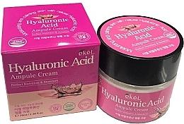 Düfte, Parfümerie und Kosmetik Nährende und feuchtigkeitsspendende Gesichtscreme mit Hyaluronsäure - Ekel Hyaluronic Acid Ampule Cream