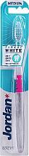 Düfte, Parfümerie und Kosmetik Zahnbürste mittel Target White rosa-transparent - Jordan Target White