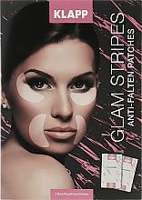 Düfte, Parfümerie und Kosmetik Anti-Falten Gesichtspatches - Klapp Glam Stripes Anti Wrinkle Patches