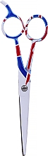 Düfte, Parfümerie und Kosmetik Friseurschere 5,5 cm - Ronney Professional White Flag London
