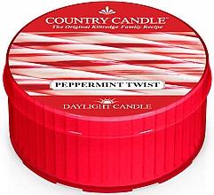 Düfte, Parfümerie und Kosmetik Duftkerze Peppermint Twist - Country Candle Peppermint Twist Daylight