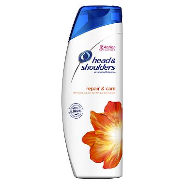 "Anti-Schuppen Shampoo ""Repair & Care"" - Head & Shoulders Anti-Hairfall for Her"