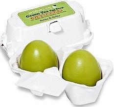 Düfte, Parfümerie und Kosmetik Kosmetische Seife zum Entfernen von Make-up mit grünem Tee - Holika Holika Green Tea Egg Soap