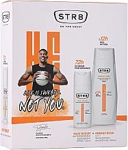 Düfte, Parfümerie und Kosmetik Körperpflegeset - STR8 Heat Resist & Energy Rush (Deospray 150ml + Duschgel 400ml)