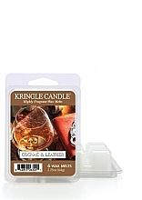 Düfte, Parfümerie und Kosmetik Duftwachs - Kringle Candle Cognac & Leather Wax Melt