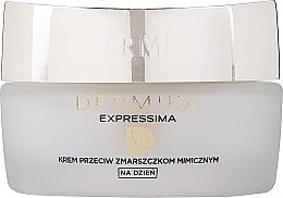 Düfte, Parfümerie und Kosmetik Feuchtigkeitsspendende Tagescreme gegen Mimikfalten - Dermika Expressima Face Cream