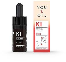 Düfte, Parfümerie und Kosmetik Bioaktive ätherische Ölmischung gegen Kopfschmerzen - You & Oil KI-HeadTouch Of Welness Essential Oil