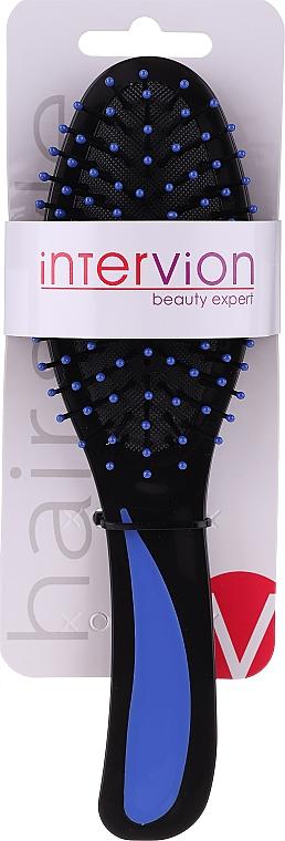Haarbürste 499725 schwarz-blau - Inter-Vion