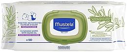 Düfte, Parfümerie und Kosmetik Pflegende Feuchttücher mit Olivenöl 50 St. - Mustela Cleansing Wipes With Olive Oil