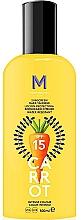 Düfte, Parfümerie und Kosmetik Körper-Sonnenschutz mit flüssiger Textur für intensive Bräune SPF 15 - Mediterraneo Sun Carrot Sunscreen Dark Tanning SPF15