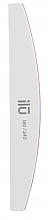 Düfte, Parfümerie und Kosmetik Doppelseitige Nagelfeile 180/240 Halbmond - Ilu White Bride File Grid 180/240