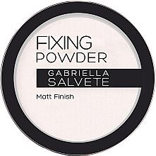 Düfte, Parfümerie und Kosmetik Mattierender langanhaltender Puder - Gabriella Salvete Fixing Transparent Powder