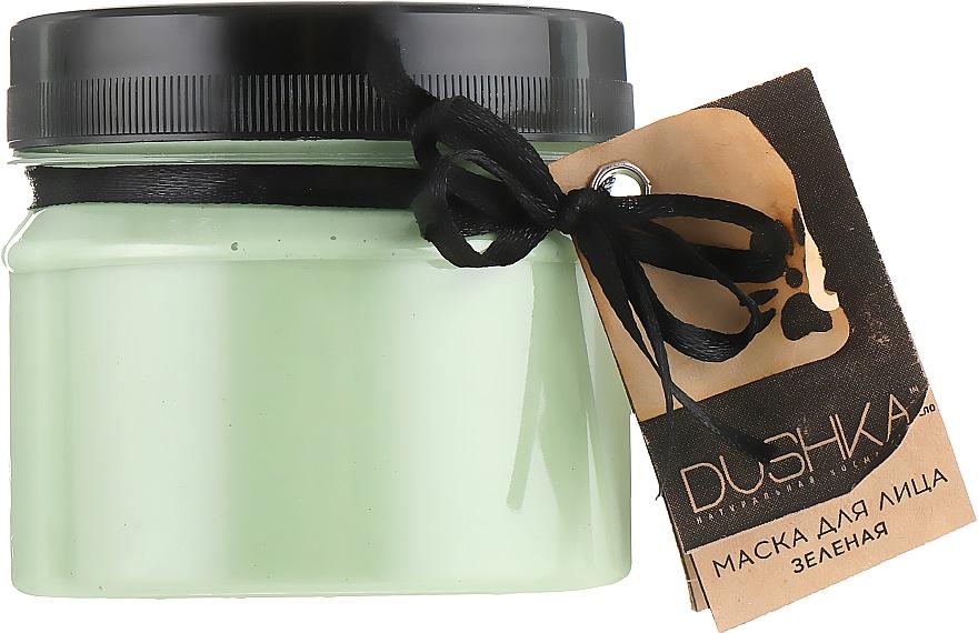 Grüne Gesichtsmaske - Dushka