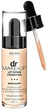 Düfte, Parfümerie und Kosmetik Foundation mit Lifting-Effekt - Ingrid Cosmetics Lift Serum Foundation SPF 8