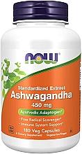Düfte, Parfümerie und Kosmetik Nahrungsergänzungsmittel Ashwagandha-Extrakt 450 mg - Now Foods Ashwagandha