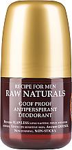 Düfte, Parfümerie und Kosmetik Deo Roll-on Antitranspirant - Recipe For Men RAW Naturals Goof Proof Antitranspirant Deodorant