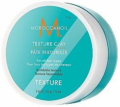Düfte, Parfümerie und Kosmetik Mattierende Modellierpaste mit Arganöl, Sheabutter und Mineralerde - Moroccanoil Texture Clay