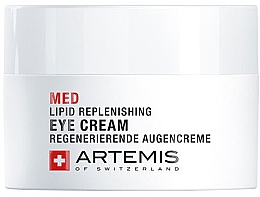 Düfte, Parfümerie und Kosmetik Regenerierende Augencreme - Artemis of Switzerland Med Lipid Replenishing Eye Cream