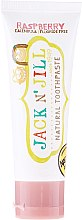 Düfte, Parfümerie und Kosmetik Natürliche Kinderzahnpasta mit Himbeergeschmack - Jack N' Jill